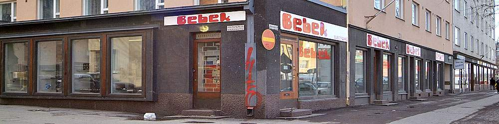 Sähkötarvikeliike Helsinki